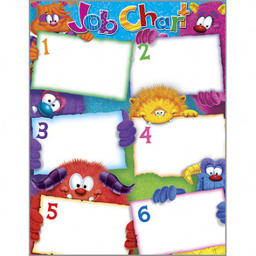 School Poster | Furry Friends Monster Job Chart