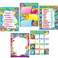 Teacher Poster Display Pack | Owl-Stars Classroom Display Set