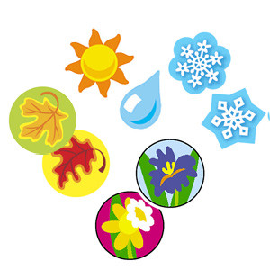 Teacher Reward Stickers | Seasons Super Spot, Mini stickers