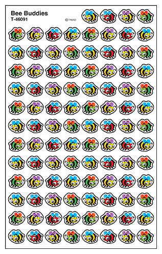Kids Stickers | Small Bee Buddies SuperShape Stickers.