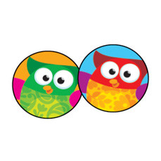 Stickers for Kids | 800 Wise Owl Stars SuperSpot Stickers-Free Delivery UK & EU