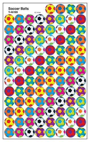 Kids Stickers | Soccer Balls SuperSpot Stickers