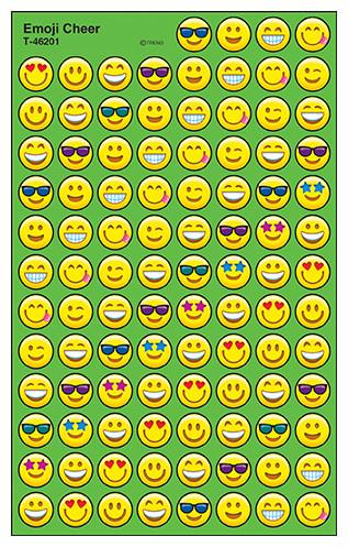 Kids Stickers | Emoji Cheer SuperSpot Stickers