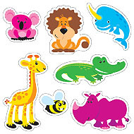 Childrens Stickers | Shaped Awesome Animal Sticker Variety Pack