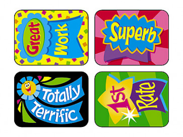 Teacher Reward Stickers | Reward Ribbon Stickers