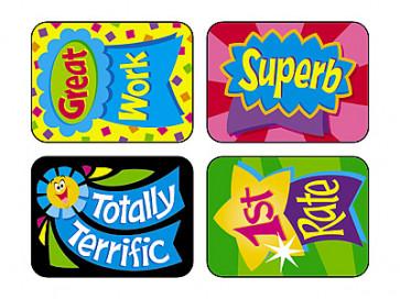 Teacher Reward Stickers | Reward Ribbon Stickers