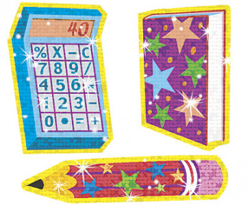 School Sparkle Stickers   School Time Fun Designs to Welcome Kids Starting School