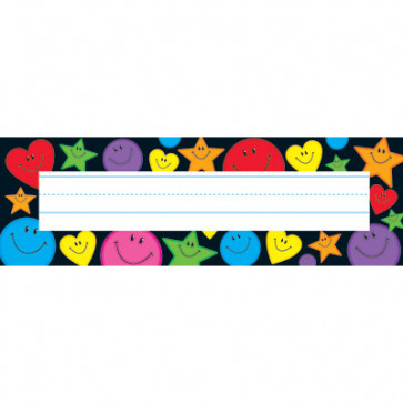 Kids Name Plates | Stars, hearts and smiles