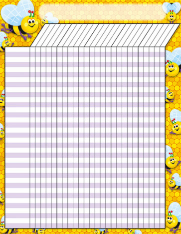 Reward Chart | Bees Reward Chart