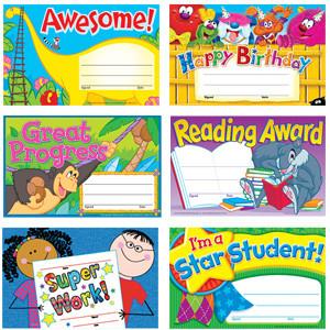 School Certificates | Children's Reward & Praise Variety Pack