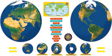 Reusable Wall Charts and Posters | Planet Earth
