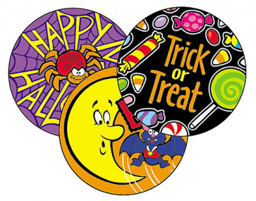 Smelly Stickers | Scratch 'n Sniff Happy Halloween Stickers for Kids