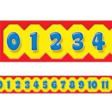 Classroom Display Borders | Maths Number Line Classroom Display Trimmers