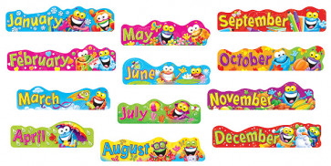 Classroom Display Resources   Frogtastic Month Headers
