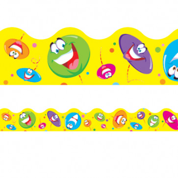 Smiley Faces Decorative Border