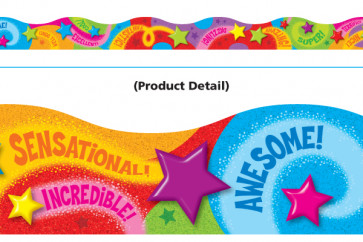Classroom trimmers / borders | Praise Words 'n Stars Borders for Displays