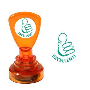 Teacher Self-Inking Stamper | Excellent ! Thumbs Up Design - Great for Teacher Marking