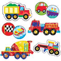 Automobile Marking Kids Stickers