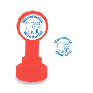 Teacher stamps | Merveilleux / Wonderful French Marking Stamp
