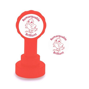Teacher stamps | Remarquable / Brilliant French Marking Stamp