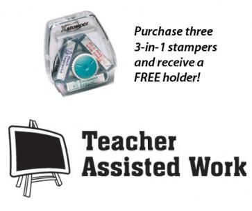 Teacher 3-in-1 Stamper | Teacher Assisted Work