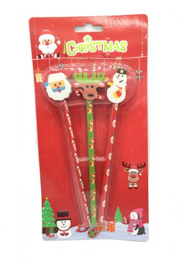 Christmas Stationery | Christmas Topper Pencils Presentation Pack