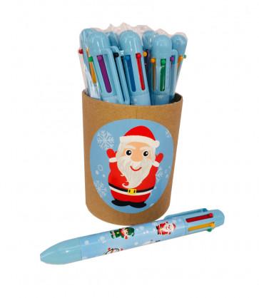 Christmas Cheap Gifts | Value tub Christmas 6-Colour Pens