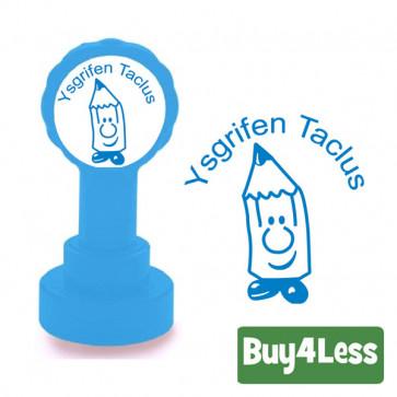 Teacher Stamps   Welsh Language Stamper - Ysgrifen Taclus
