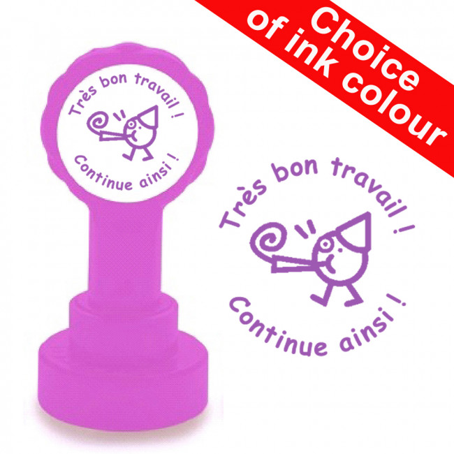 Teacher Stamps Tr 232 S Bon Travail Continue Ainsi