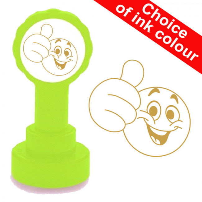 School Stamps Big Thumbs Up Emoji Teacher Stamp Free
