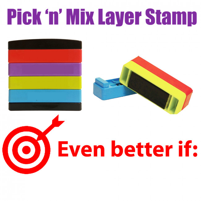 Teacher Stamps Even Better If Pick N Mix Stakz Layer
