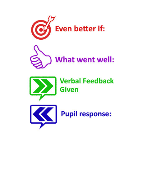 Teacher Stamps Www Ebi Verbal Feedback Pupil Response