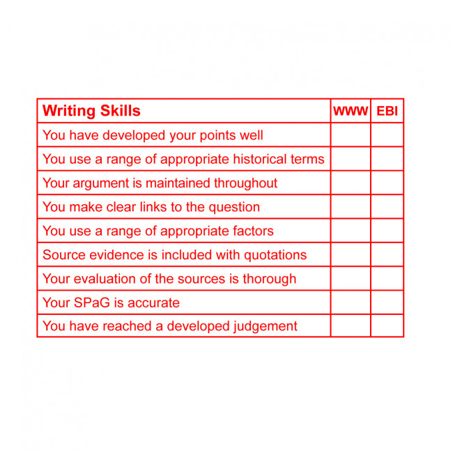 Teacher Stamp Ks3 History Writing Skills Ks3 4 Large