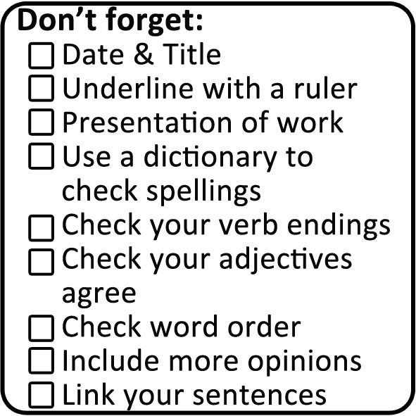 School Stamp Mfl Languages Marking Checklist Stamp