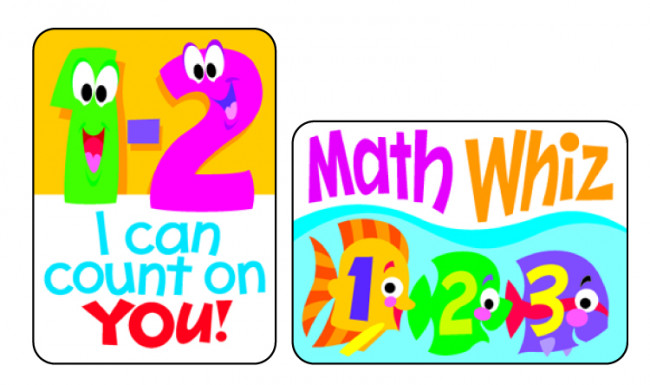 Math Wiz Sticker