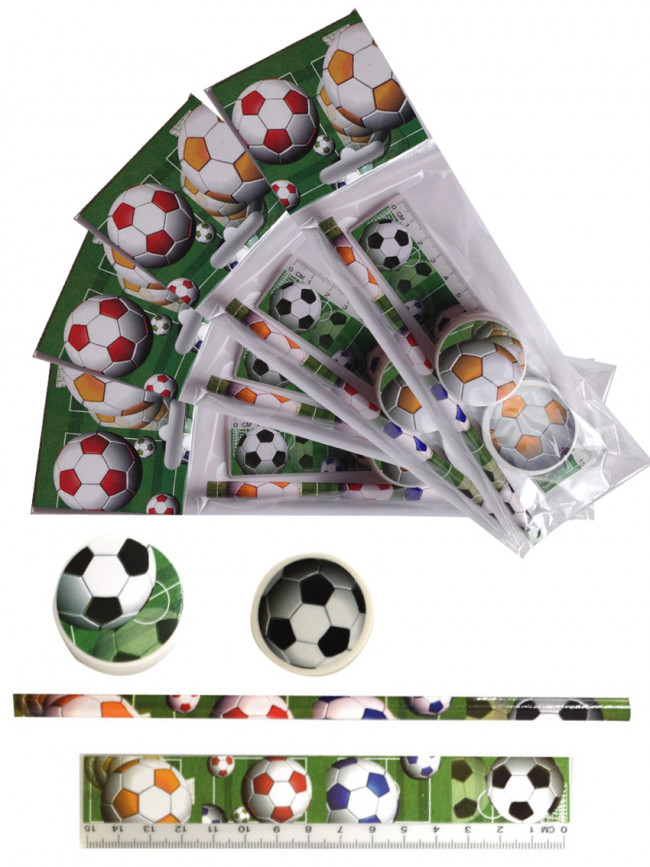 pack of 12 Party Bags Football