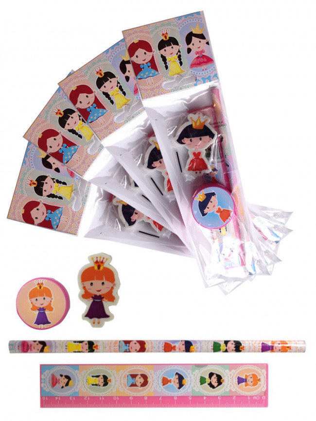 Gifts for Kids | 4 x Princess Stationery Set. Low Cost Class Gift ...
