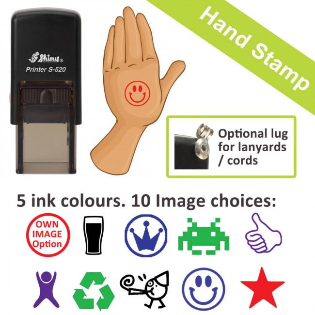 Skin Safe Hand Custom Stamp For Event Re Entry