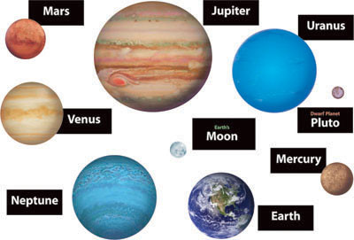 accent cards large space planet cut outs free delivery