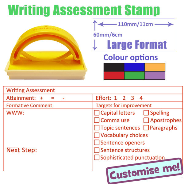 School Stamp Writing Assessment Marking And Feedback