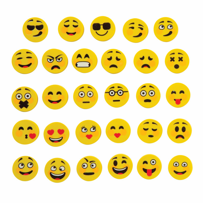 Kids Erasers Small Emoji Erasers For Party Bags Amp Class