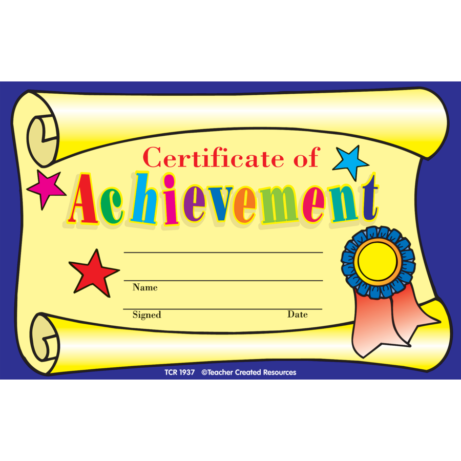 Kids Certificates | Certificate of Achievement Awards ...