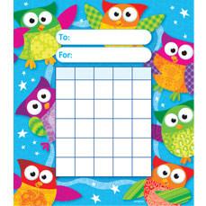 reward chart: Reward chart pads wise owl design a5 size free delivery uk eu