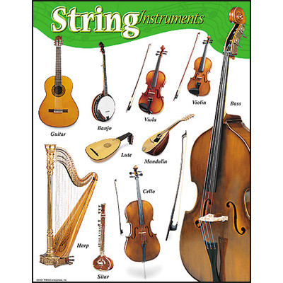 school posters string instruments music poster. Black Bedroom Furniture Sets. Home Design Ideas
