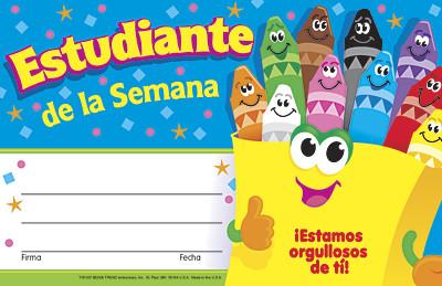 Estudiante De Le Semana Certificates