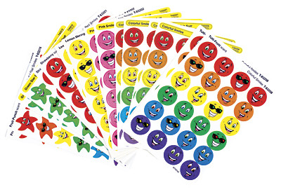 Smelly Stickers | Smiles & Stars Scratch n Sniff Stickers ...