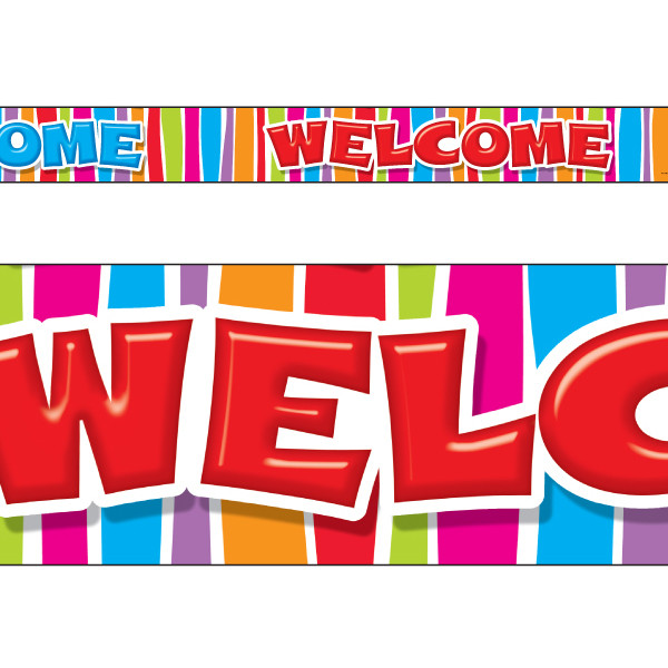 Classroom Welcome Design ~ Classroom display borders trimmers welcome razzle