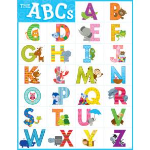 School Posters | Animal Design Alphabet ABCs Poster