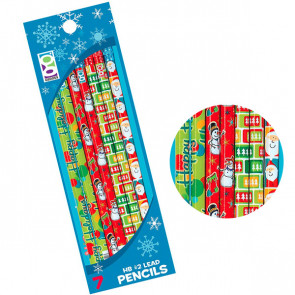 Christmas Pencils | 6 Pencil Presentation Pack. Great Value!