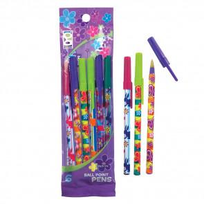 Kids Gifts   Summer and Spring Design Pens - Presentation pack of 5 pens